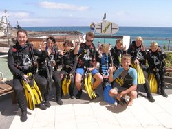 Canary Islands, Lanzarote scuba diving holiday.