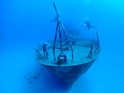 Malta scuba diving holiday - Wreck Um el Faroud.
