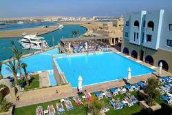 Marsa Alam - Red Sea Dive Holiday. Hotel pool.