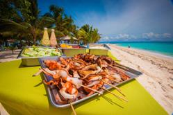 Philippines Scuba Diving Holiday. Malapascua. Kalanggaman Island BBQ Lunch.