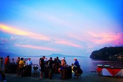 Philippines Scuba Diving Holiday. Puerto Galera Sunset.