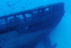Lanzarote Scuba Diving Holiday - Costa Teguise. Ajache wreck.