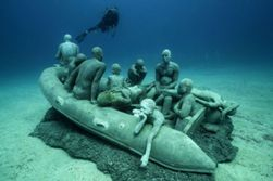 Lanzarote Scuba Diving Holiday - Costa Teguise. The Atlantic Museum.