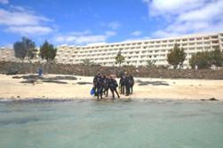 Lanzarote Dive Centre - Canary Islands. Shore diving.