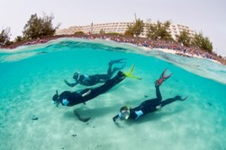 Lanzarote Scuba Diving Holiday - Costa Teguise. Snorkeling.