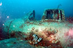 Palau Scuba Diving Holiday. Wreck.