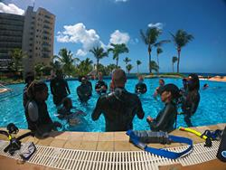Barbados Scuba Diving Holidays. Learn to Dive course.