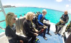 Barbados Scuba Diving Holidays. PADI Dive Centre day boat diving.