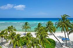 Barbados Scuba Diving Holidays.  Coconut Court Hotel beach.