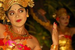 Scuba Diving Holiday, Bali - Indonesia. Traditional dancer.