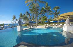 Scuba Diving Holiday, Bali - Indonesia. Siddhartha Dive and Spa Resort swimming pool.