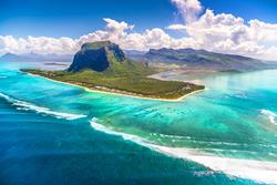 Scuba diving holiday to Mauritius - Le Morne Brabant.