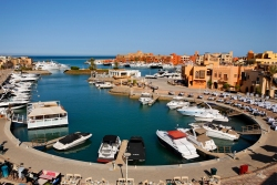 El Gouna - Red Sea. Abu Tig Marina.