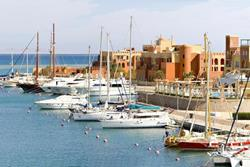 El Gouna - Red Sea. Marina.