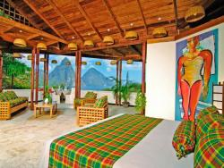 Caribbean - St Lucia scuba diving holiday. Anse Chastenet Premium Room - Piton views.