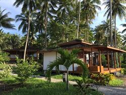 Dive into Lembeh at Hairball Resort - bungalow accommodation.