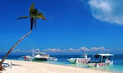 Philippines Scuba Diving Holiday. Malapascua Dive and Beach Resort. Dive Boats.