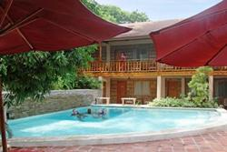 El Galleon Dive Resort, Puerta Galera - Philippines. Swimming pool.