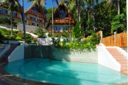 El Galleon Dive Resort, Puerta Galera - Philippines. Annex pool.