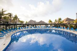 Allegro Playacar All Inclusive Beach Resort - Playa Del Carmen, Mexico. Swimming Pool.