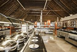 Allegro Playacar All Inclusive Beach Resort - Playa Del Carmen, Mexico. Buffet restaurant.