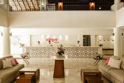 Allegro Playacar All Inclusive Beach Resort - Playa Del Carmen, Mexico. Lobby.