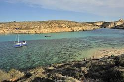 Gozo scuba diving holiday. Bay.