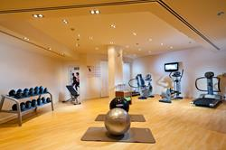 sifawy Boutique Hotel - Sifah, Oman. Fitness Suite.