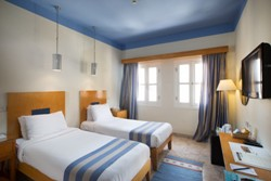 Captains Inn Hotel, El Gouna - Red Sea. Twin room.