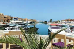 Captains Inn Hotel, El Gouna - Red Sea. Marina.