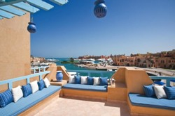 Captains Inn Hotel, El Gouna - Red Sea. Balcony.