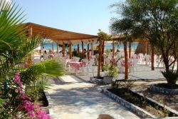 Hotel Shams Safaga - Red Sea. Beach bar.