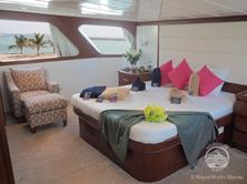 Oman Scuba Diving Holiday. Luxury Oman Aggressor Liveaboard. Suite.