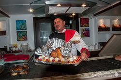 Oman Scuba Diving Holiday. Luxury Oman Aggressor Liveaboard. Fine Dining.