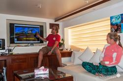 Oman Scuba Diving Holiday. Luxury Oman Aggressor Liveaboard. Dive Briefing.