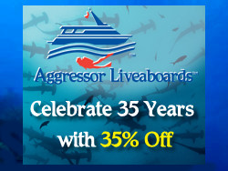 SAVE 35% OFF Luxury Aggressor Liveaboards